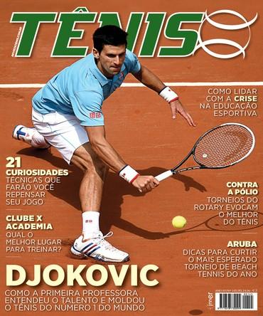 Revista TÊNIS 145 · Outubro 2015 · Djokovic 0c836f6ccb615