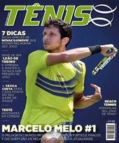 Capa Revista Revista TÊNIS 146 - Marcelo Melo #1