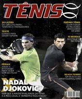 Capa Revista Revista TÊNIS 147 - Nadal x Djokovic