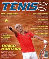 Capa Revista Revista TÊNIS 150 - Thiago Monteiro - A surpresa dos ATPs no Brasil