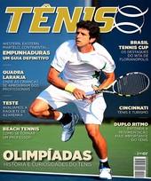 Capa Revista Revista TÊNIS 154 - Olimpíadas