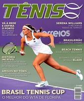 Capa Revista Revista TÊNIS 155 - Brasil Tennis Cup
