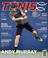 Capa Revista Revista TÊNIS 159 - Andy Murray