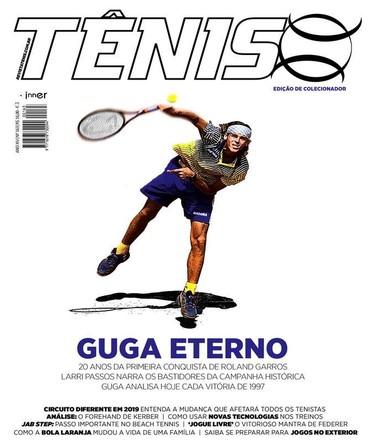 Revista TÊNIS 163 · Abril 2017 · Guga Eterno 56e15eb2c62ad