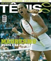Capa Revista Revista TÊNIS 39 - Mauresmo - A Copa é da França
