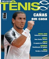 Capa Revista Revista TÊNIS 44 - Cañas em casa