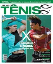 Capa Revista Revista TÊNIS 46 - Federer e Nadal - os donos da bola