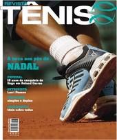 Capa Revista Revista TÊNIS 47 - A terra aos pés de Nadal