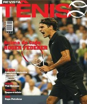 Capa Revista Revista Tênis 50 - Roger Federer - acima de tudo