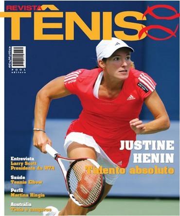 Revista TÊNIS 52 · Janeiro 2008 · Justine Henin - talento absoluto 940d104c604f8