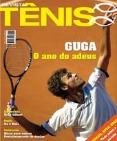 Capa Revista Revista Tênis 53 - Guga - o ano do adeus