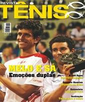 Capa Revista Revista TÊNIS 54 - Melo e Sá - emoções duplas