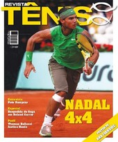Capa Revista Revista TÊNIS 57 - Nadal 4x4