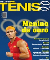 Capa Revista Revista TÊNIS 59 - Nadal - Menino de Ouro