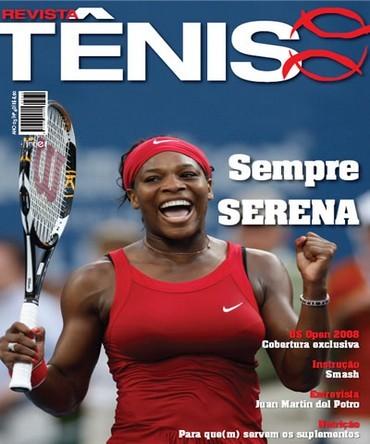 Revista TÊNIS 60 · Outubro 2008 · Sempre Serena f0b7b895f5dc6