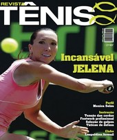 Capa Revista Revista Tênis 61 - Incansável Jelena Jankovic