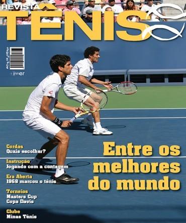 Revista TÊNIS 62 · Dezembro 2008 · Melo e Sá - Brasil entre os melhores 4a94984533968