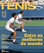 Capa Revista Revista Tênis 62 - Melo e Sá - Brasil entre os melhores