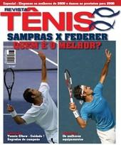 Capa Revista Revista Tênis 63 - Sampras x Federer - quem é o melhor?