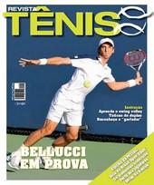 Capa Revista Revista Tênis 64 - Bellucci em prova