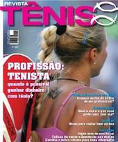 Capa Revista Revista Tênis 66 - Profissão Tenista