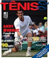 Capa Revista Revista TÊNIS 67 - Andy Murray - o triunfo do talento