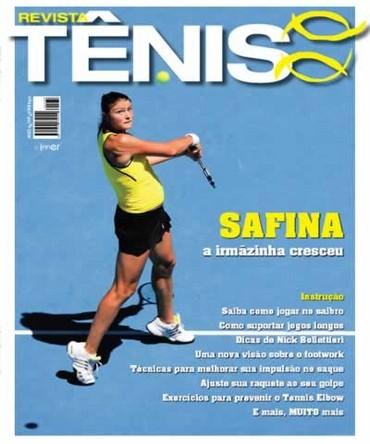 4a824a6906 Revista TÊNIS 68 · Junho 2009 · Dinara Safina - a irmã de Safin cresceu
