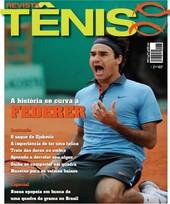 Capa Revista Revista TÊNIS 69 - A história se curva a Federer