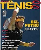 Capa Revista Revista TÊNIS 72 - Del Potro gigante