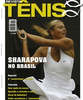 Capa Revista Revista Tênis 74 - Sharapova no Brasil