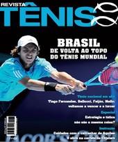 Capa Revista Revista Tênis 77 - Brasil - de volta ao topo do tênis mundial