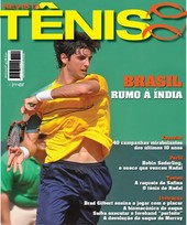 Capa Revista Revista Tênis 80 - Brasil rumo à Índia