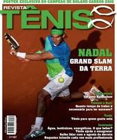 Capa Revista Revista Tênis 81 - Nadal - Grand Slam da terra