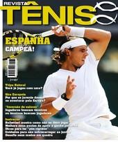 Capa Revista Revista Tênis 82 - Espanha Campeã - Nadal em Wimbledon