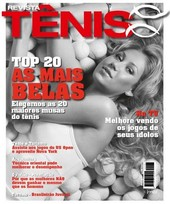 Capa Revista Revista TÊNIS 83 - Top 20 - as mais belas