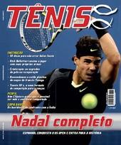 Capa Revista Revista TÊNIS 84 - Nadal completo - US Open 2010