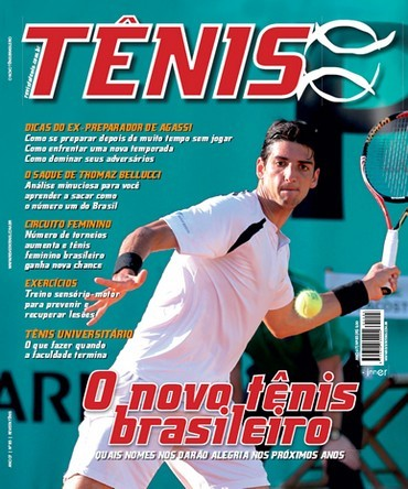 Revista TÊNIS 85 · Novembro 2010 · O novo tênis brasileiro 25323d3aa99b5