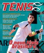 Capa Revista Revista Tênis 85 - O novo tênis brasileiro
