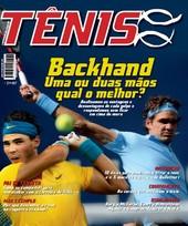 Capa Revista Revista Tênis 86 - Backhand - Uma ou Duas mãos?