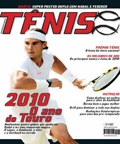 Capa Revista Revista Tênis 87 - 2010 - o ano do Touro
