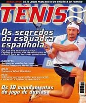 Capa Revista Revista TÊNIS 88 - Os segredos da esquadra espanhola
