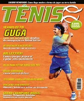 Capa Revista Revista Tênis 92 - 10 anos do Tri de Guga em Roland Garros