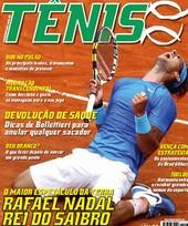 Capa Revista Revista Tênis 93 - Nadal - Rei do Saibro