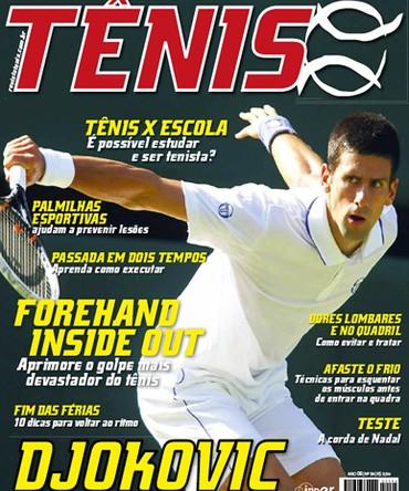 Revista TÊNIS 94 · Agosto 2011 · Djokovic - O novo Rei de Wimbledon 4413eb94572bd