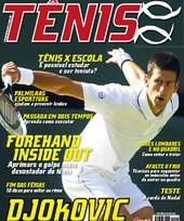 Capa Revista Revista Tênis 94 - Djokovic - O novo Rei de Wimbledon