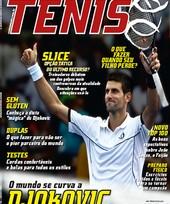 Capa Revista Revista TÊNIS 96 - O mundo se curva a Djokovic