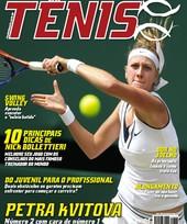 Capa Revista Revista Tênis 98 - Petra Kvitova - Número 2 com cara de n° 1