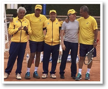 Givaldo Barbosa, João Soares, Galba Couto e Henrique Avancine