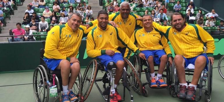 985b69f1c Na grande decisão da Copa do Mundo por Equipes, o Time Brasil de Tênis em  Cadeira de Rodas lutou, mas acabou derrotada pela equipe chinesa.