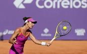 Nanda e Pigossi vencem favoritas. Cé avança nas duplas no Brasil Tennis Cup